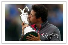 RORY MCILROY THE OPEN GOLF 2014 SIGNED PHOTO PRINT