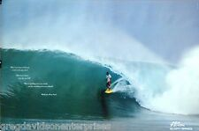 No Fear 24x36 Sunny Garcia Poster 1999 Surfing / Pipeline