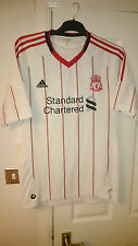 Adidas LIVERPOOL Football Shirt Soccer Jersey LFC Extra Large Away Top 2010 11