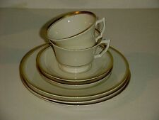 Syracuse Fine China Ivory Old Colony  Misc Salad Plates Cup and Saucer Sets