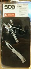 NEW SOG Micro Toolclip & Centi II Lockback Pocket Knife Keychain Multi-Tool Set