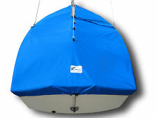 Mutineer Sailboat - SLO Sail and Canvas Boat Mast Up Cover - Blue Polyester