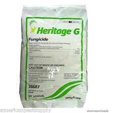 Heritage G Fungicide 30 Lbs Azoxystrobin Granular Fungicide .31% Turf  Fungicide