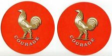 UK Beer Mat /Coaster - Wells & Youngs Brewery - Bedfordsire - Courage