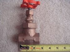 NEW STOCKHAM 3/4'' Bronze Gate Valve 125S 200 OWG