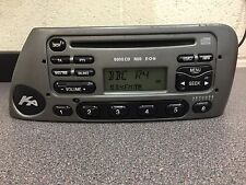 Ford Ka Cd car radio stereo CD player 6000 Rds Eon with Code In Metallic Grey