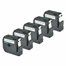 5 PK Black on White Compatible for Brother P-touch Labels M231 MK231 PT-100 110