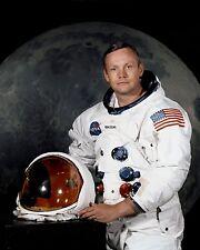 Neil A. Armstrong Apollo 11 NASA Astronaut 8x10 Portrait Space Suit Photo