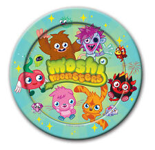 MOSHI MONSTERS CHILDRENS BIRTHDAY PARTY PLATES NEW