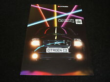 CITROEN C2 'MINISTRY OF SOUND' EDICIÓN ESPECIAL FOLLETO GB -FECHA DE 2004