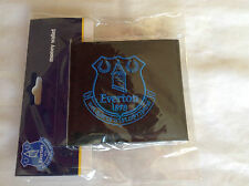 Official Everton Wallet - Black with Blue Embroidered Badge - Ideal Gift