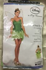 New Disney Licensed Pixie Dust Tink Tinkerbell Princess Costume L Large Adult