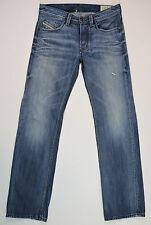 DIESEL Men's LARKEE Regular Straight Wash 0805Q Button Fly Jeans 30 x 32