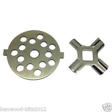 Kitchenaid FGA Food Grinder/Mincer Coarse Cutting Plate With A Cutter Knife.