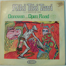 "DONOVAN WITH OPEN ROAD - AIKI TIKI TAVI  -  7"" SINGLES (F707]"
