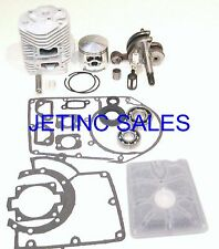 CYLINDER & PISTON CRANKSHAFT OVERHAUL KIT FITS STIHL 050 051 NEW