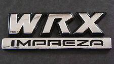 Black WRX IMPREZA Badge STI WRX TURBO