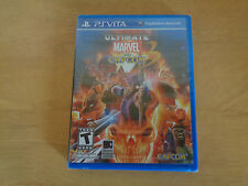 Ultimate Marvel vs Capcom 3 (PS Vita, 2011) Brand New ~ Free Shipping