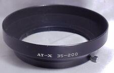 Tokina AT-X 35-200 Metal Camera Lens Hood - slip on type f3.5-4.5