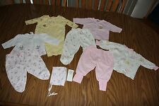 Baby Girl's 0-3 Months 2 Piece Outfits Lot of 4 EUC Disney/ Cherokee/ Little Me