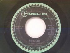 "JOHNNY CRAWFORD ""PROUD / LONESOME TOWN"" 45"