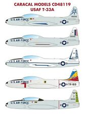 Caracal Models 1/48 USAF Lockheed T-33A Shooting Star # 48119
