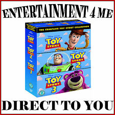 TOY STORY - COMPLETE 3 MOVIE COLLECTION  **BRAND NEW DVD BOXSET ***