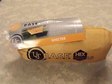UST BASE HEX Tarp Survival Shelter, Lightweight All Weather Tarp, Stakes & Lines