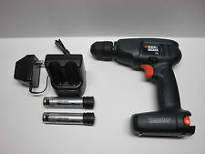 Black & Decker VPD2 VersaPak drill VP100 3.6V battery 2 port charger power tool
