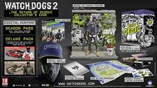NEW! WATCH DOGS 2 The Return of Dedsec Limited Collectors Case Edition for PS4