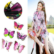 5Pcs Simulated Butterfly Hair Clips Bridal Headdress Wedding Hair Accessories