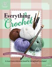 """""""Everything Crochet : A Must-Have Reference Book for the Serious Crocheter!"""""""