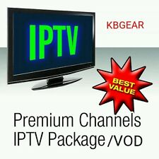 1 month iptv subscription 1080p HD VOD Mag & Smart Tv~1800+ Chls Xxx PPV