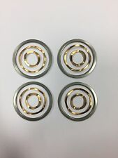 4 Rondelles de glissement + 4 contacts onduflex COPPER CONTACTS lampe JIELDE
