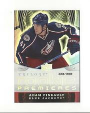 2008-09 Upper Deck Trilogy #144 Adam Pineault RC Rookie Blue Jackets /999