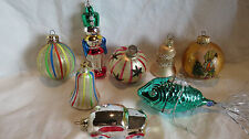 Vintage Lot Christmas Ornaments Made in West Germany