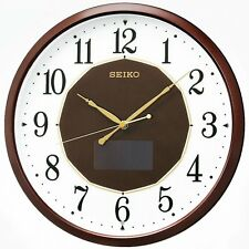 Official SEIKO CLOCK hybrid solar radio hanging clock SF241B / From Japan