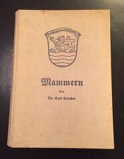 Emil Stauber Geschichte von Mammern Schweiz 1934 ..