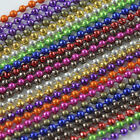 New Wholesale 2/10/20 Strands 2.4mm =Ball Chain= Making DIY Necklace Jewelry
