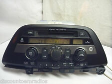 05 06 07 08 09 Honda Odyssey Radio 6 Cd Mp3 WMA & Code 1XU9 39100-SHJ-A120 CT532
