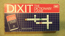 Vintage 1983 Board Game - Dixit The Dictionary Game