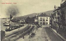 Rorschach, Schiffe, Dampfer im Hafen, alte Ansichtskarte von 1913