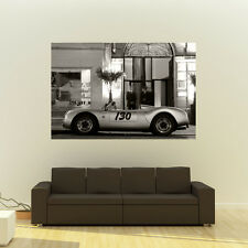Porsche 550 Spyder Giant B&W Poster Classic Sports Car Huge Print 54x36 Inches