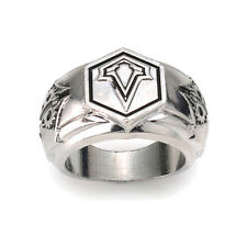 Cosplay Sliver Assasins Creed Game Animation Rings Assassins Creed Free Size