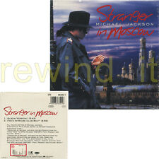 "MICHAEL JACKSON ""STRANGER IN MOSCOW"" RARE CDs 1996 CARDSLEEVE 2 TRACKS - SEALED"