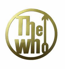 The Who Sticker Gold Cut Out Scooter Decal 85mm Scoot Mod SS6