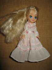Vintage 1985 My Little Pony MEGAN DOLL dress gown Hasbro blonde