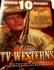 CLASSIC TV WESTERNS 26 Episodes Over 10 Hours of Action 3-Disc DVD Set SEALED