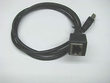 Kenwood Microphone Extension Cable for TM-D700A TM-V7A TM-G707A ~3 feet long Blk