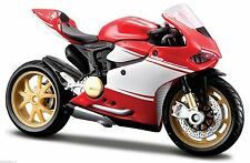 MAISTO 1:18 Ducati 1199 Superleggera MOTORCYCLE BIKE DIECAST MODEL NEW IN BOX